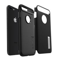 Чехол Spigen Slim Armor для iPhone 8 Plus черный