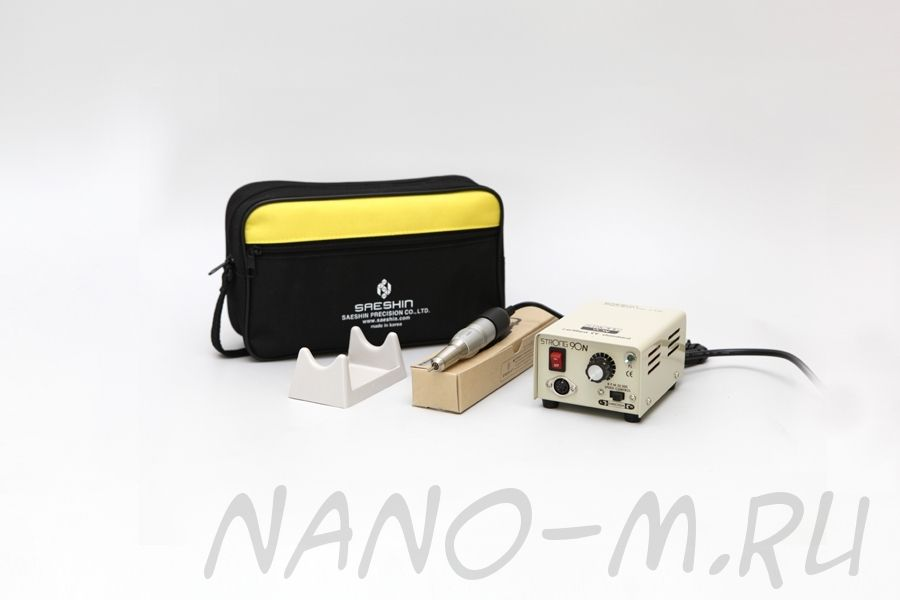 Аппарат Strong 90N/120 для маникюра без педали с сумкой