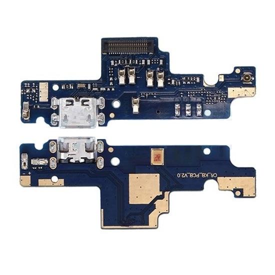 Нижняя плата с разъемом зарядки и микрофоном для Xiaomi Redmi Note 4X (3GB RAM, узкий коннектор) (Original)
