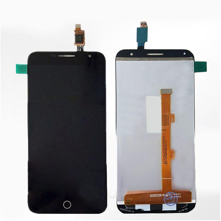 LCD (Дисплей) Alcatel 6015X OneTouch Fire E (в сборе с тачскрином) (black) Оригинал