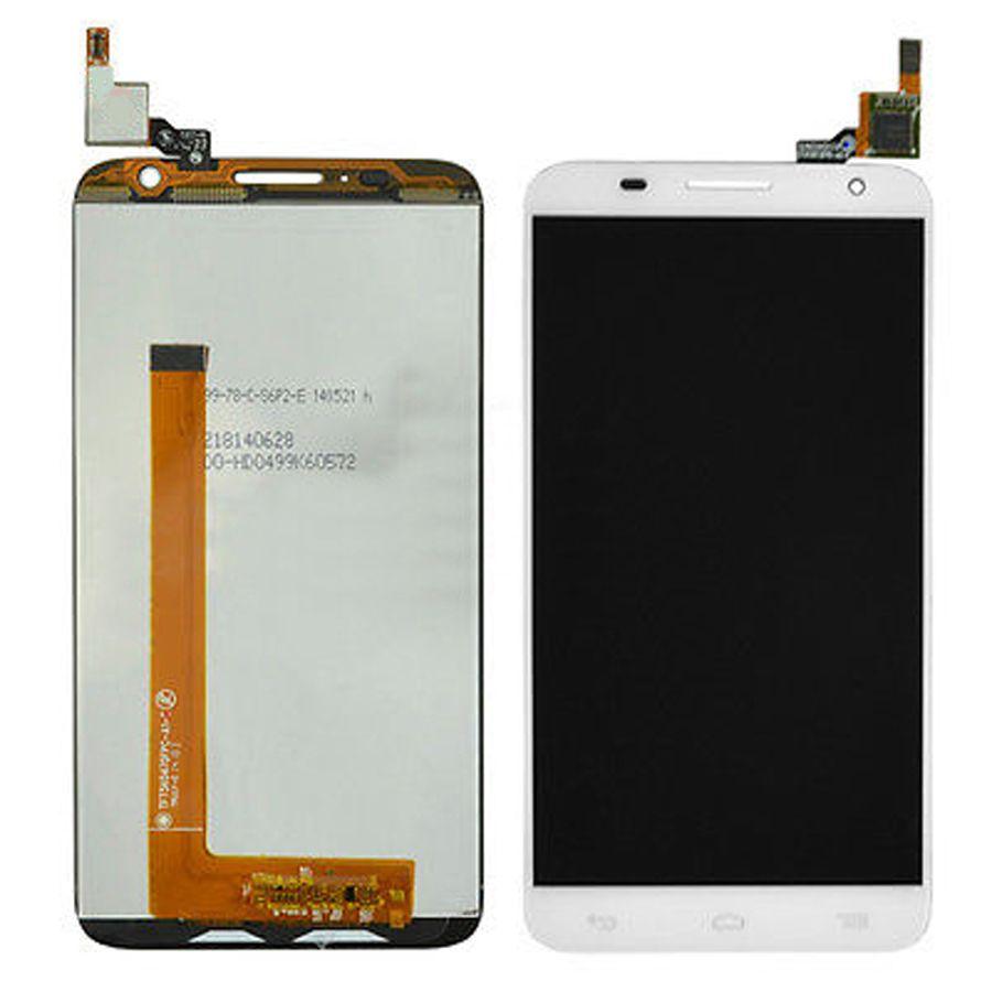 LCD (Дисплей) Alcatel 6050Y Idol 2S (в сборе с тачскрином) (white) Оригинал