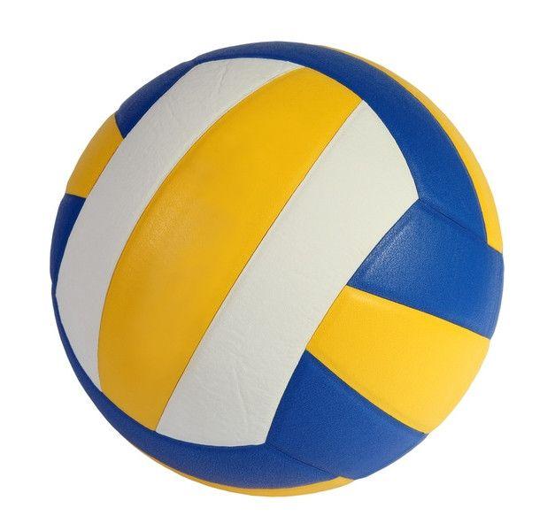 Трёхцветный волейбольный мяч