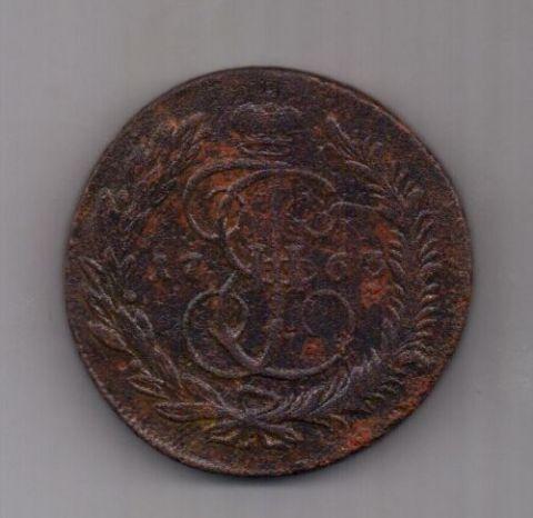 5 копеек 1763 г. мм