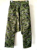 Камуфляжные зеленые афгани из плотной ткани (милитари стиль) на демисезон (осень, весна), Москва