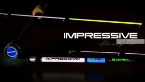 Спиннинг Zemex Impressive S-702XUL 2,13 м / тест 0.3-3 гр