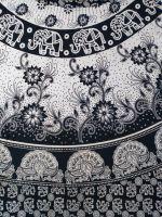 Длинная индийская юбка с запахом, интернет-магазин Ind Bazaar, черно белая расцветка