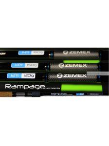 Удилище фидерное Zemex Rampage River Feeder 12,4ft / до 110 гр