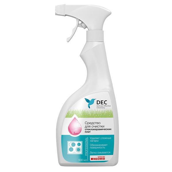 Средство для чистки стеклокерамических поверхностей DEC (Дэк) 500 мл