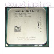 Процессор AMD A4-5300 - FM2, 2 ядра/2 потока, 3.4 GHz, 65W