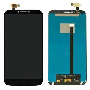 LCD (Дисплей) Alcatel 8030Y OneTouch Hero 2 (в сборе с тачскрином) (black) Оригинал