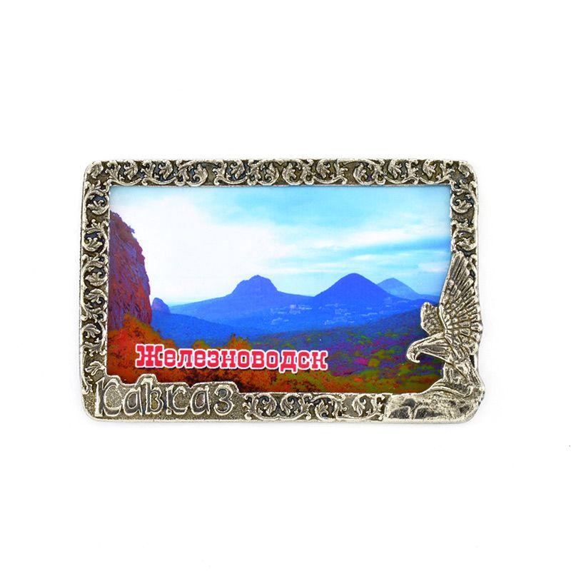 "Магнит-рамка ""Кавказ. Панорама Железноводска"""