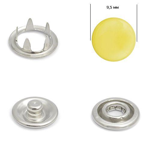 Кнопка трикотажная 9,5мм №108 (закрытая) нерж эмаль Упаковка-1440шт