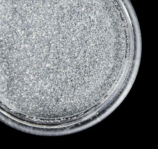 """Втирка для ногтей """"Зеркальный блеск"""", мелкая, цвет серебристый неон"""