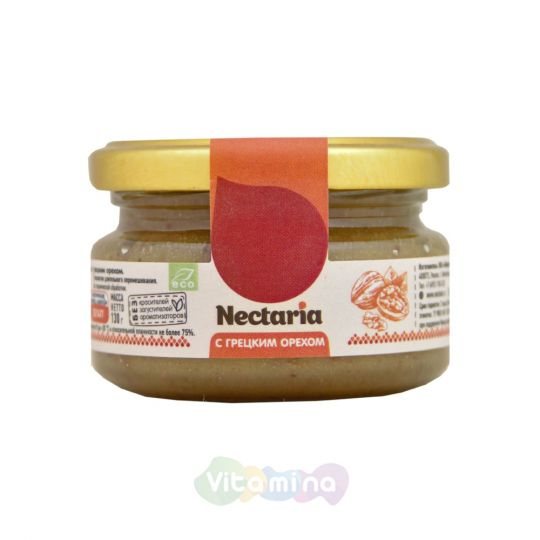 Взбитый мёд с грецким орехом