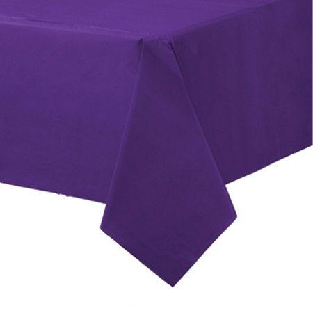 Скатерть фиолетовая (сиреневая)