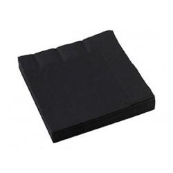 Салфетки черные