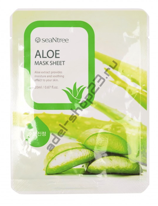 "SEANTREE - Тканевая маска ""Aloe"" Mask Sheet"