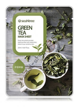 "SEANTREE - Тканевая маска ""Green Tea"" Mask Sheet"