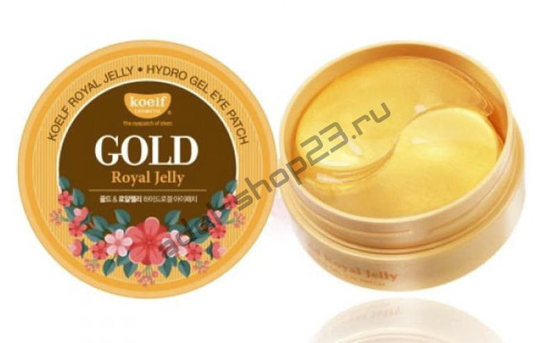 Koelf - Hydro Gel Gold & Royal Jelly Eye Patch