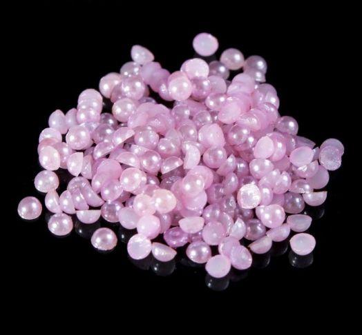 """Декор для ногтей """"Жемчужины"""", цвет фиолетовый"""