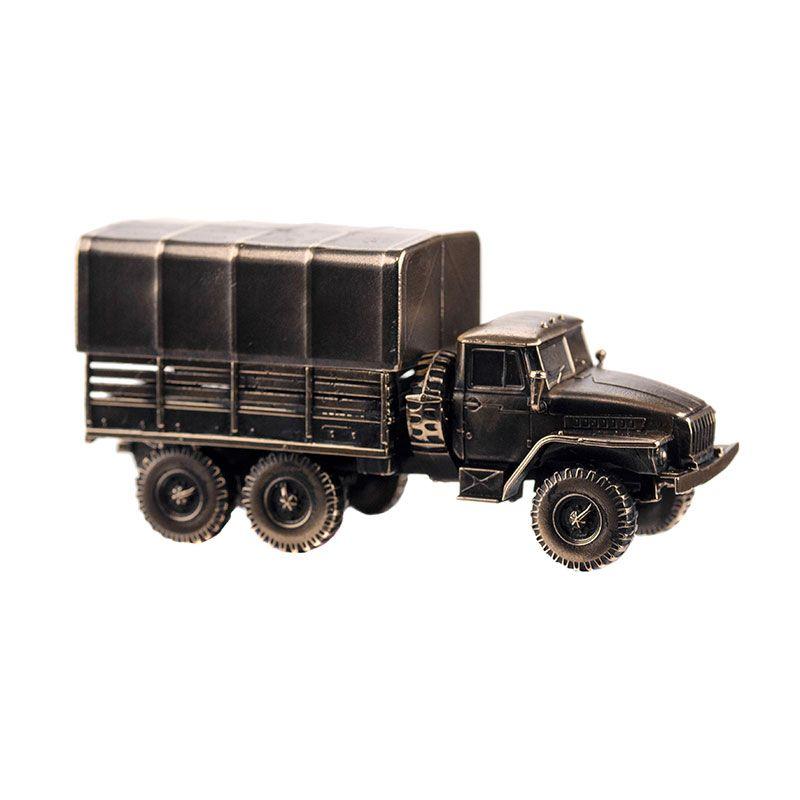 Армейский грузовик УРАЛ-4320(1:100)