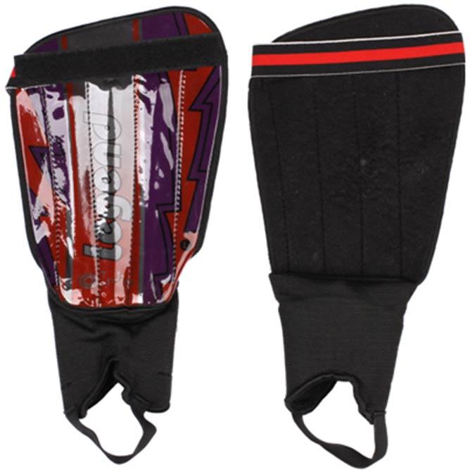 Щитки футбольные с защитой щиколотки Indigo 1512 (размер M-L)