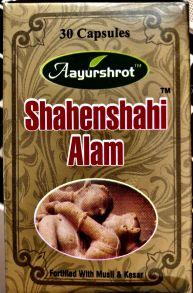 Shahenshahi Alam 30 капсул Aayurshrot