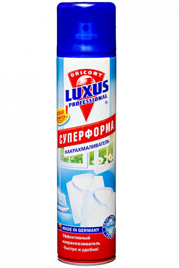 Cредство для накрахмаливания белья Суперформа LUXUS PROFESSIONAL (Люксус Профешинал) 400 мл