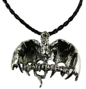 Медальон металлический Демон