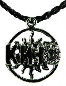 Медальон металлический Кино