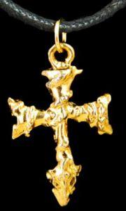 Медальон металлический Крест