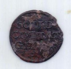 1 шиллинг 1657 г. Гданьск ( Данциг )