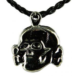 Медальон металлический Череп