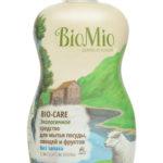 Средство для мытья посуды, овощей, фруктов Без Запаха Концентрат BioMio (БиоМио) 450 мл