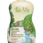 Средство для мытья посуды, овощей, фруктов с маслом Мандарина Концентрат BioMio (БиоМио) 450 мл