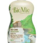 Средство для мытья посуды, овощей, фруктов с маслом Мяты Концентрат BioMio (БиоМио) 450 мл