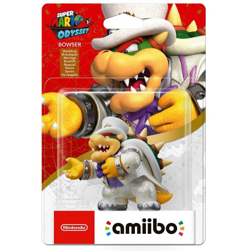 Amiibo: Интерактивная фигурка Боузер Свадьба (Коллекция Super Mario)