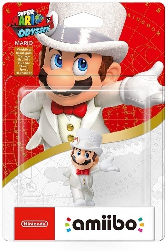 Amiibo: Интерактивная фигурка Марио-свадьба (Коллекция Super Mario)