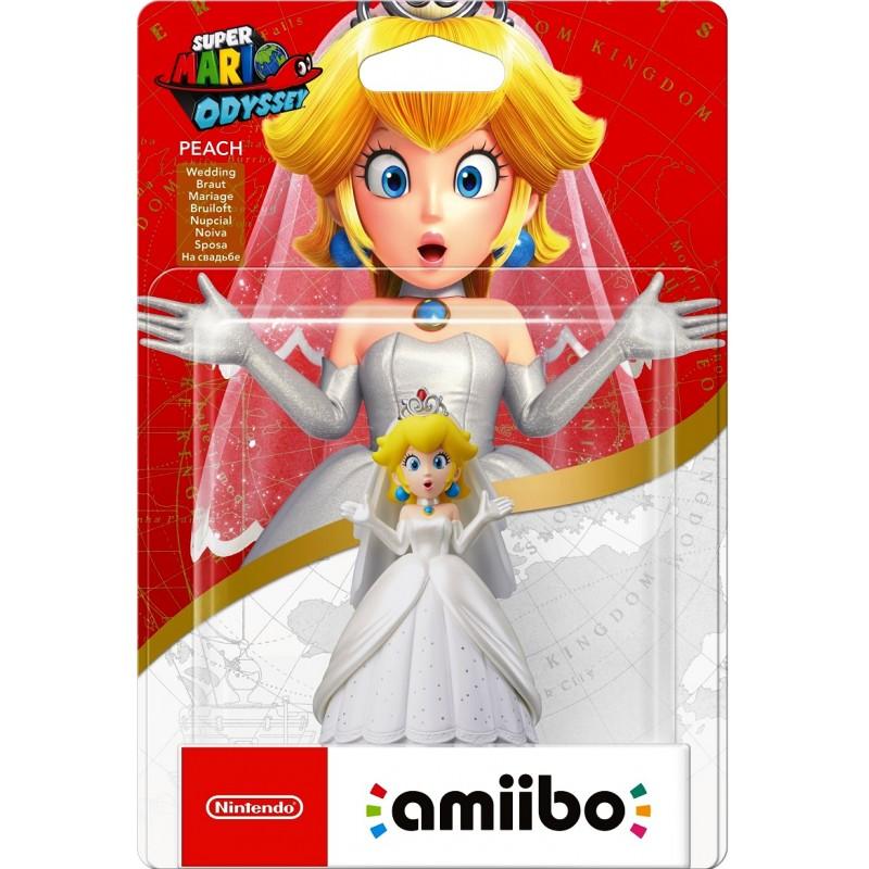 Amiibo: Интерактивная фигурка Пич-свадьба (Коллекция Super Mario)