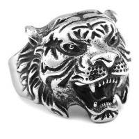 Перстень Голова Тигра