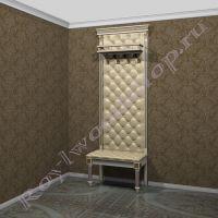 "Мебель в коридор ""Руссильон PROVENCE-80"". Модуль 2"
