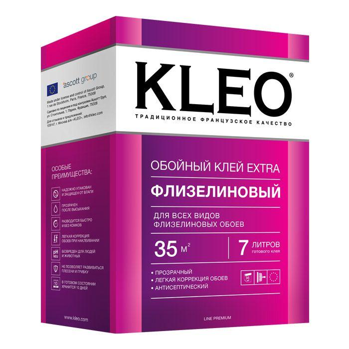 Клей обойный Kleo Extra для флизелиновых обоев 250 г.