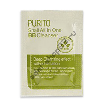 PURITO - Snail All In One BB Cleanser 1.5g пробник