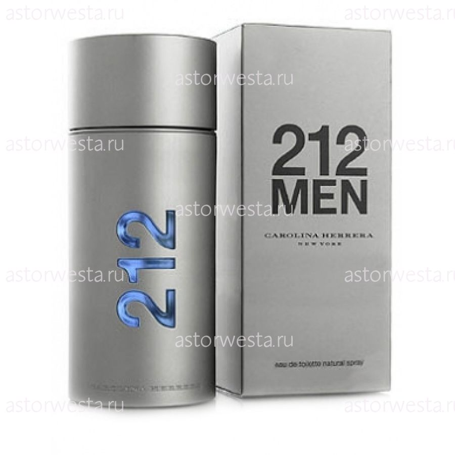 Туалетная вода Carolina Herrera 212 Men, 100 ml (ПОД ЗАКАЗ)