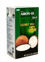 Кокосовое молоко Aroy D 60% кокоса, 17-19% жирности - 1 литр - тетрапак