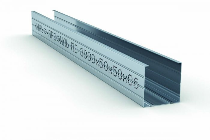 Профиль стоечный КНАУФ  ПС-2 50х50х3000 мм