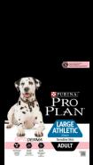Сухой корм ПРО ПЛАН для собак крупных пород атлетического телосложения, лосось с рисом, 14кг