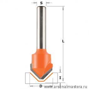 CMT 915.001.11 Фреза пазовая c углом 90гр. ALUCOBOND S8 D18x7,45