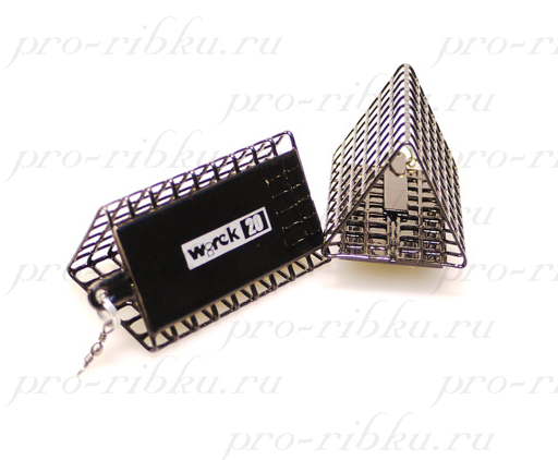 Кормушка-сетка WIREK треугольная без дна 44мм, 20гр