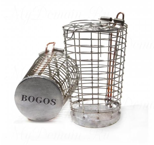 Кормушка BOGOS Ведерко со свинцовым основанием 60гр